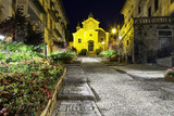 Orta, Santa Maria Assunta church, night view. Color image - 83269426