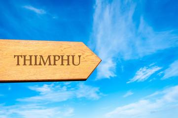 Destination THIMPHU, BHUTAN