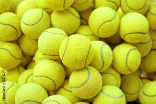 Plakat tennis ball