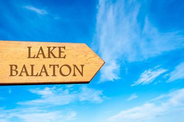 Destination LAKE BALATON, HUNGARY
