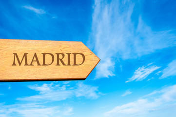 Destination MADRID, SPAIN