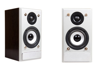 music speaker isolated on a white background