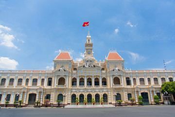 City Hall in Ho Chi Minh city, Vietnam