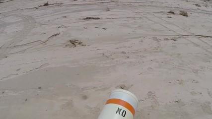Drought Damaged Marina - Lake Mead National Recreation Area