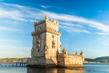 Belem tower - Torre de Belem  in Lisbon, Portugal