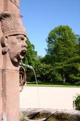 Brunnen im Park Schloss Favorit Rastatt Förch