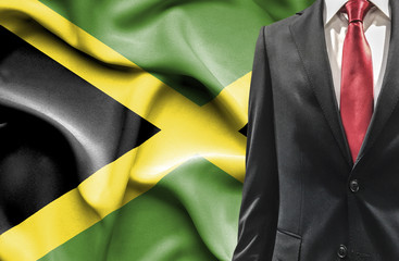 Man in suit from Jamaica