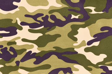 Camouflage pattern background or texture.