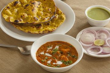 Paneer butter masala with miss roti