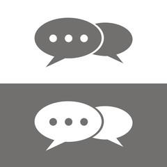 Icono chat BN