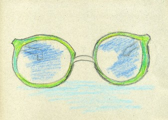 Hand Drawn Glasses
