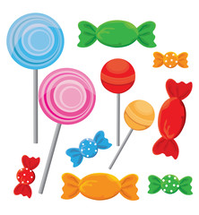 Set of Candy