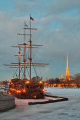 St.-Petersburg, winter landscape
