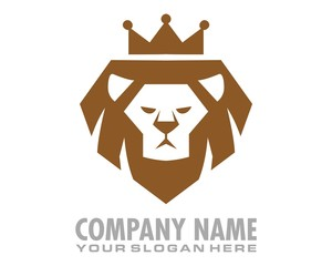 lion king logo image vector
