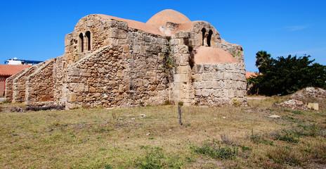 San Giovanni di Sinis vecchia chiesa