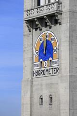 Hygrometer am Turm des Deutschen Museums in München