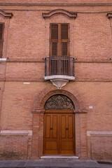 Ingresso con balcone