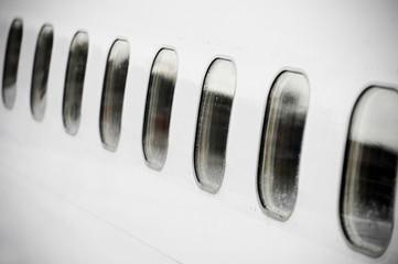 Airplane portholes