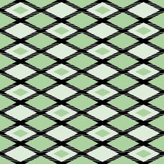 Elegant abstract seamless pattern of rhombuses