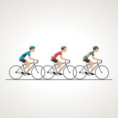 peloton cycliste 1