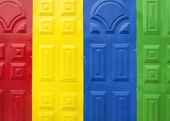 Colourful Gates
