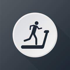 icon running track