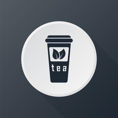 icon tea cap