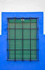 Ventana de una casa manchega, Campo de Criptana, España