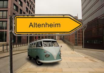 Strassenschild 46 - Altenheim