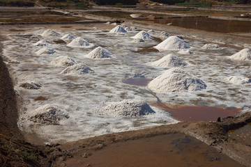 Traditional Salt Making in Chile