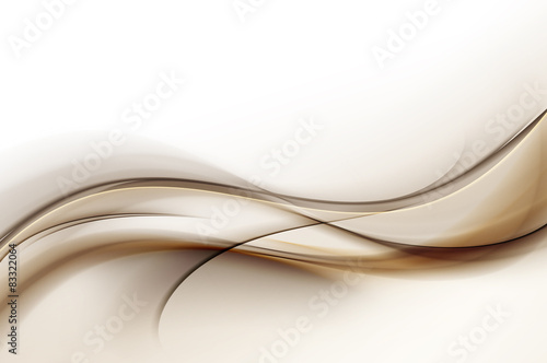 Fototapeta Abstract Waves Background