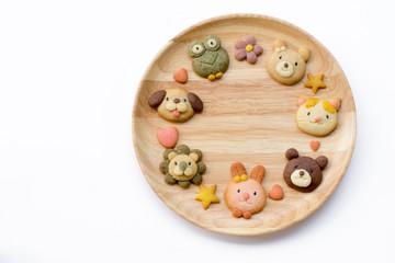 Cute animals cookies