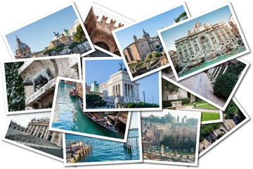 Photo Collage Italy