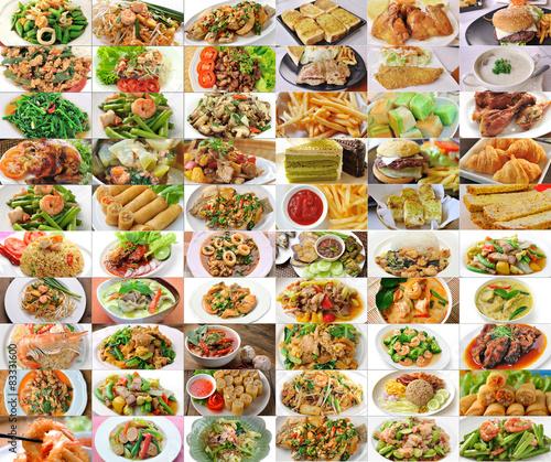 Fotobehang Restaurant thai food