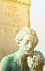 Statue of Marie princess of Denmark in Copenhagen