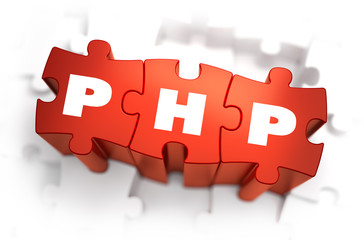 PHP - White Word on Red Puzzles.