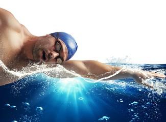Sunshine swimmer