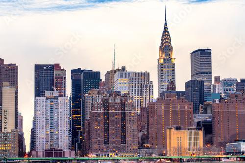 Poster Manhattan, New York City. USA.