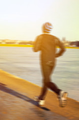 Runner - Running concept