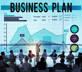 Business Plan Strategy Marketing Concept