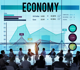 Economy Finance Budget Marketing Business Concept