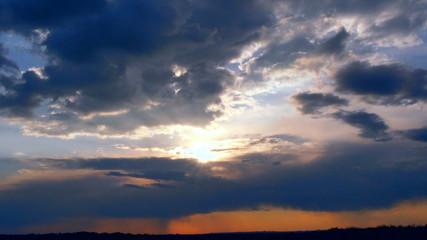 sunset, cloud, s