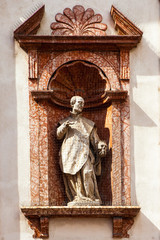 Saint Francis. Sculpture
