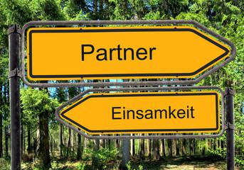 Strassenschild 41 - Partner