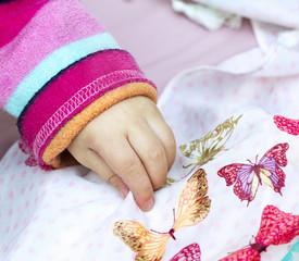 Girl's hand