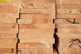 Wooden timber at a sawmill - 83360225
