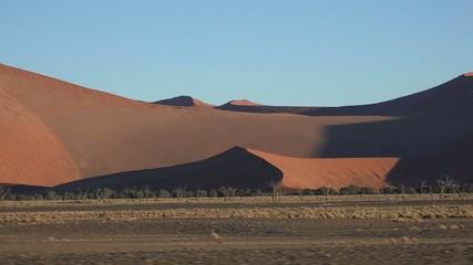The Namib Dessert (Sossusvlei, Namibia)