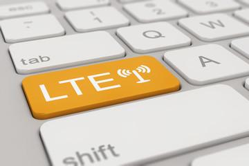keyboard - LTE - orange