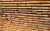 Wooden timber at a sawmill - 83360422