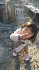 一歳の女の子